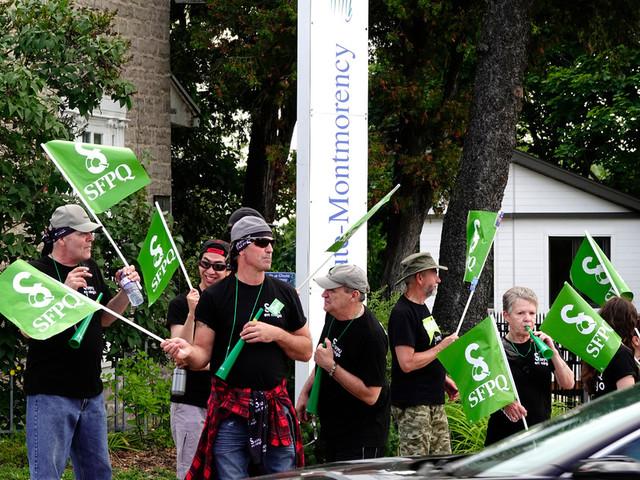 Menaces de grève à la Sépaq