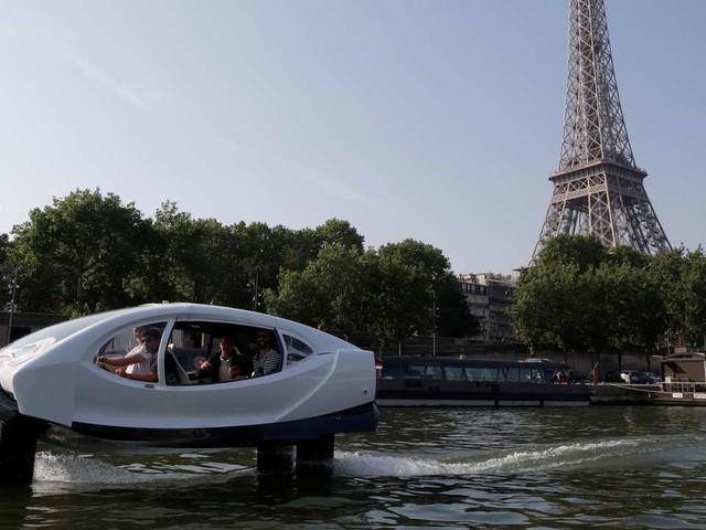 Seabubbles reprend ses essais sur la Seine
