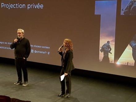 Vidéo / Sam Mendes a présenté «1917» à Paris