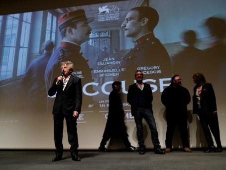 """""""J'Accuse"""", de Roman Polanski, sur l'affaire Dreyfus, projeté à l'Ecole militaire"""