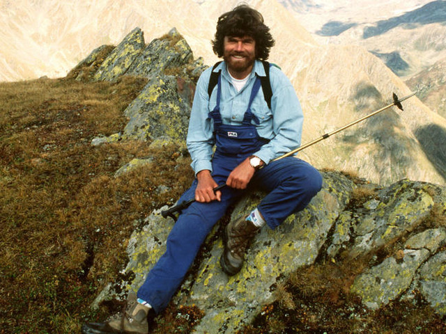 Reinhold Messner, alpiniste et guide spirituel