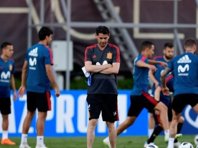 "Mondial-2018: Hierro ne ""pouvait pas dire non"""