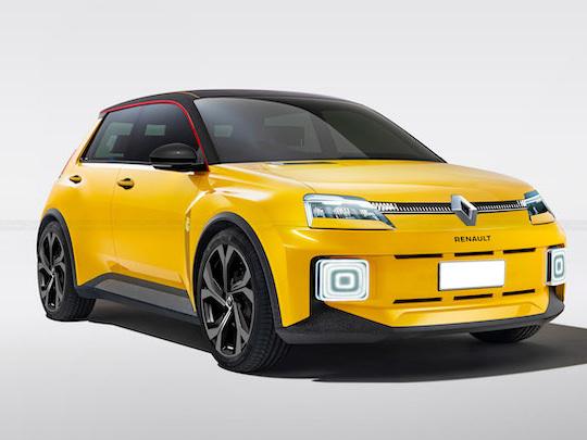La nouvelle Renault 5 restera-t-elle jolie sous sa forme définitive ?