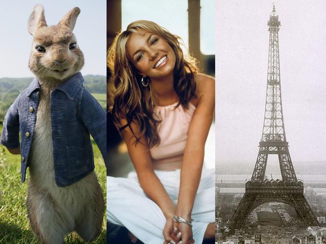 A la télé ce soir : Pierre Lapin, Britney Spears 20 ans de succès et de scandales, Tour Eiffel la grande épopée sont dans le top 3 de Télé Star