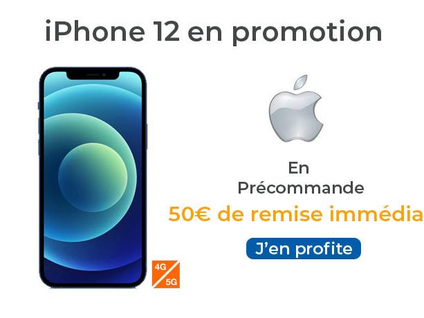 iPhone 12 : Sosh offre 50 € de remise pour les abonnés et paiement en plusieurs fois sans frais