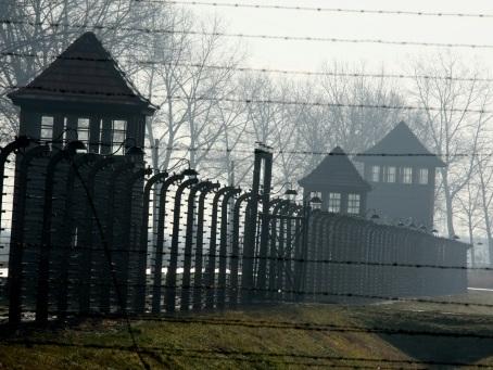 Le camp d'extermination nazi d'Auschwitz-Birkenau