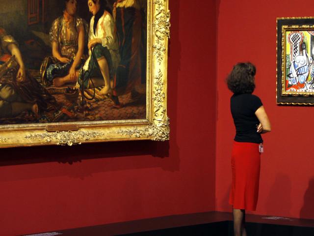 L'importance du regard (Delacroix, Assia Djebar )
