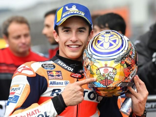 MotoGP: Marc Marquez en pole position pour le GP du Japon
