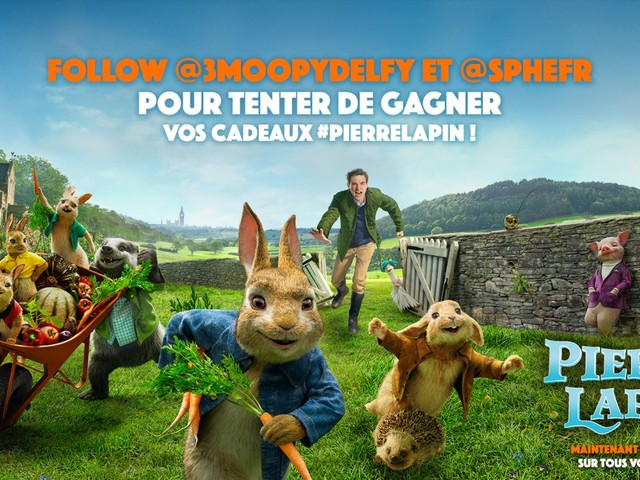 #Concours Adaptation: Pierre Lapin de Will Gluck