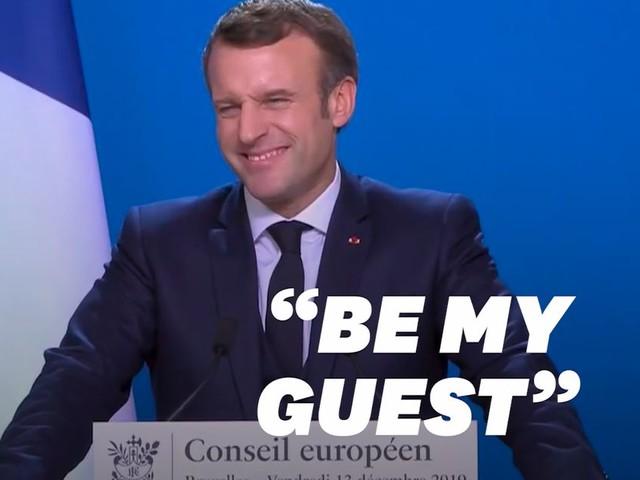 """Brexit: Macron lance à Johnson un """"Be my guest"""" sur un accord commercial"""