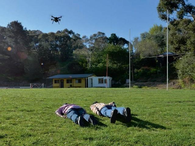 Un drone pour identifier les survivants d'une catastrophe