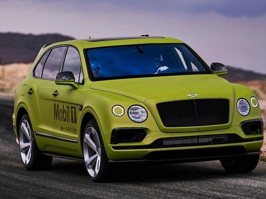 Le Bentley Bentayga va tenter le record des SUV à Pikes Peak