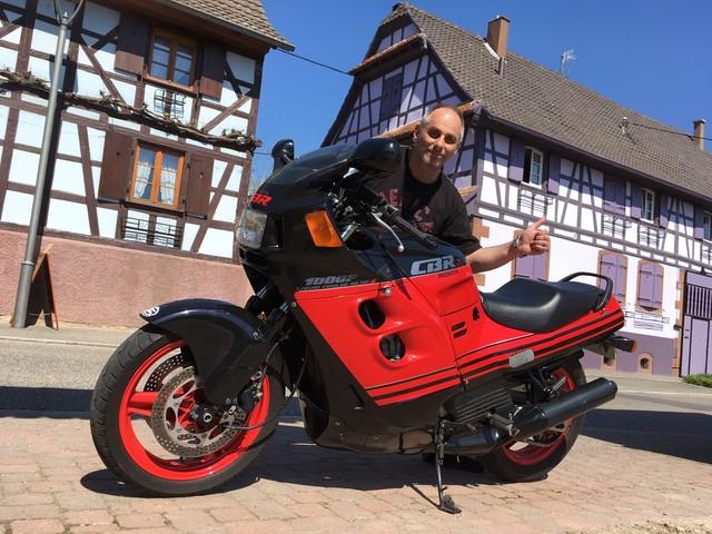 La moto classique de la semaine : Honda CBR 1000 F