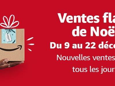 Voici les meilleures offres du jour des ventes flash de Noël d'Amazon