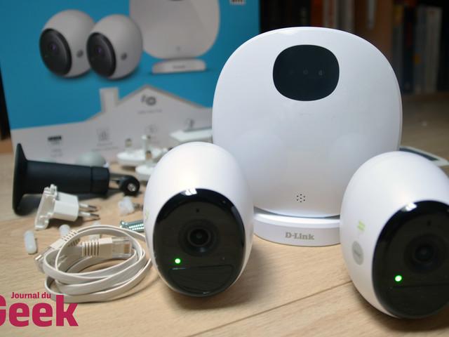 Test des caméras sans-fil D-Link mydlink Pro : sécuriser son chez soi en toute simplicité