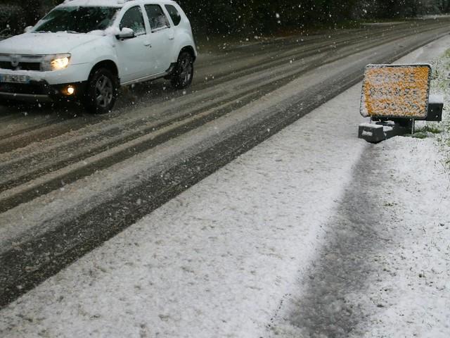 Météo : la Saône-et-Loire est le seul département encore placé en vigilance orange neige et verglas