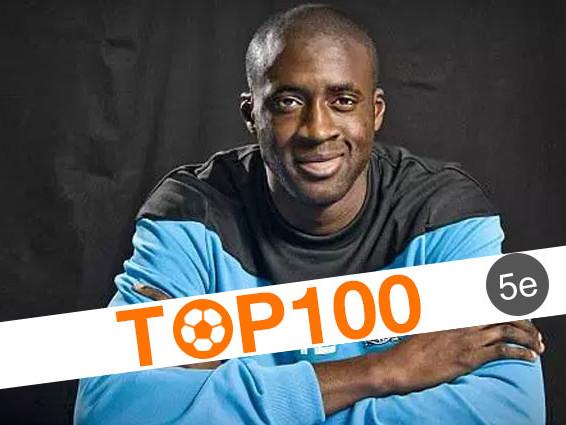 Top 100 des joueurs africains de l'histoire: 5e - Yaya Touré