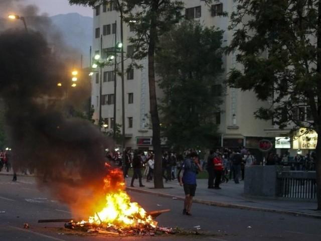 Chili. État d'urgence après de violentes manifestations