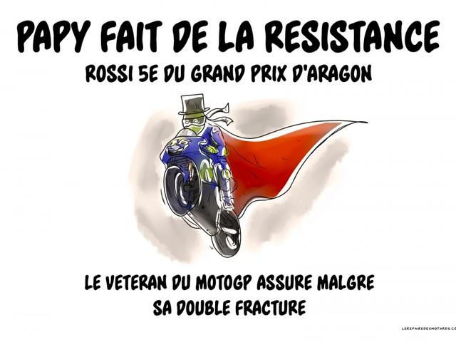 Crobard : Papy fait de la résistance