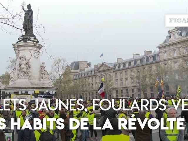 Gilets jaunes, foulards verts, bonnets rouges : les habits de la révolte