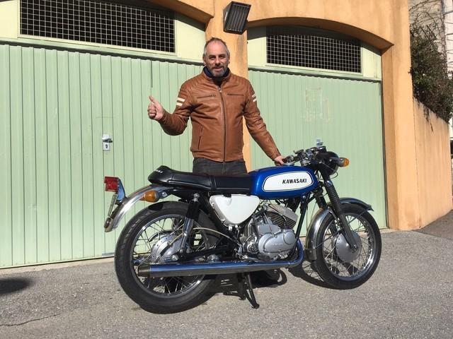 La moto classique de la semaine : Kawasaki 350 A7 Avenger