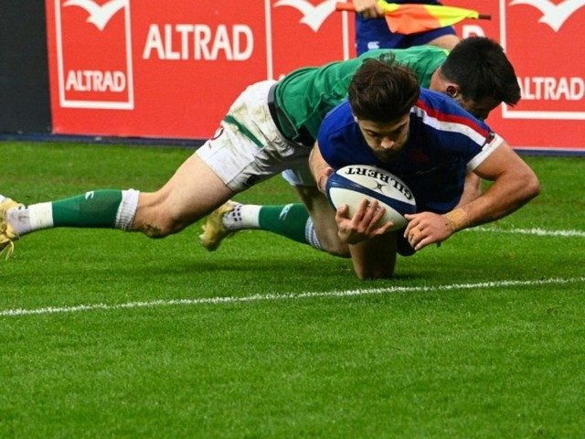 Six nations: la France bat l'Irlande, l'Angleterre sacrée