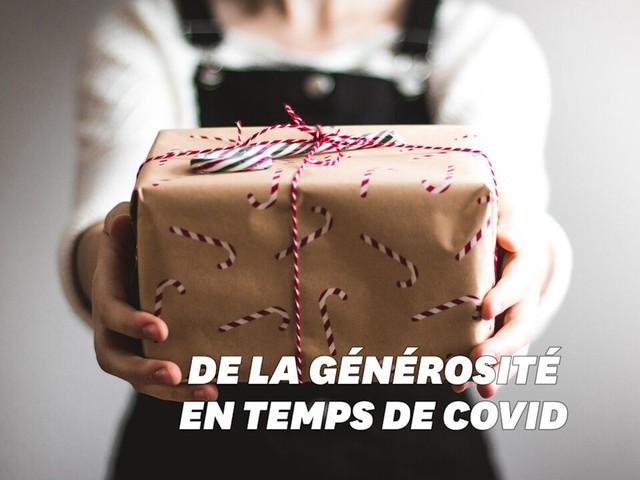 Pour Noël, des boîtes cadeaux conçues en confinement pour les plus démunis