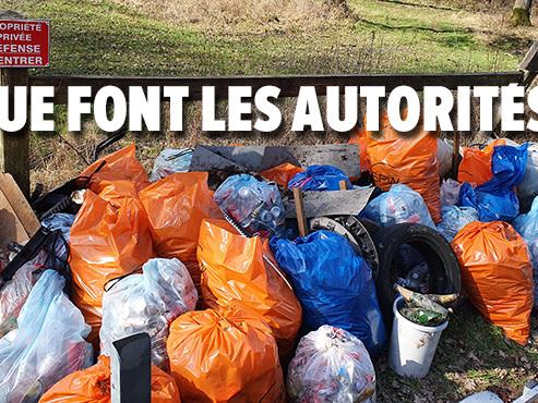 """Déchets sauvages à Péronnes-Lez-Antoing: """"Nous avons rempli des dizaines de sacs, c'était juste horrible"""""""