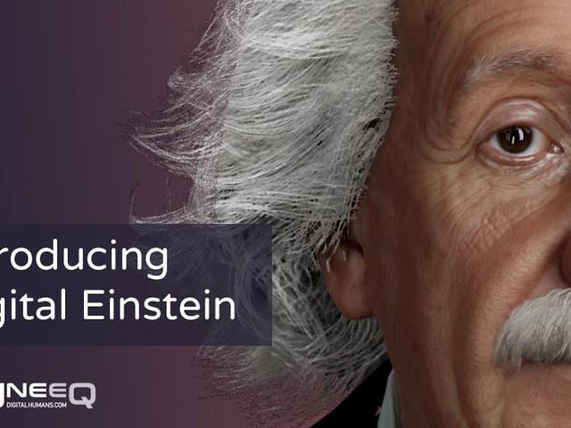 Cette intelligence artificielle permet de discuter avec un Einstein virtuel