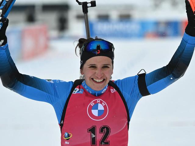 Mondiaux de biathlon: Julia Simon, double face