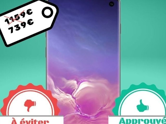 Avant le Black Friday, le Samsung Galaxy S10 avec 512 Go est en promo