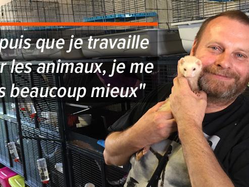 """Pascal, un homme au grand cœur, a déjà sauvé plus de 600 furets: """"Quand je partirai, Saint-Pierre m'enverra dans le paradis des animaux"""""""