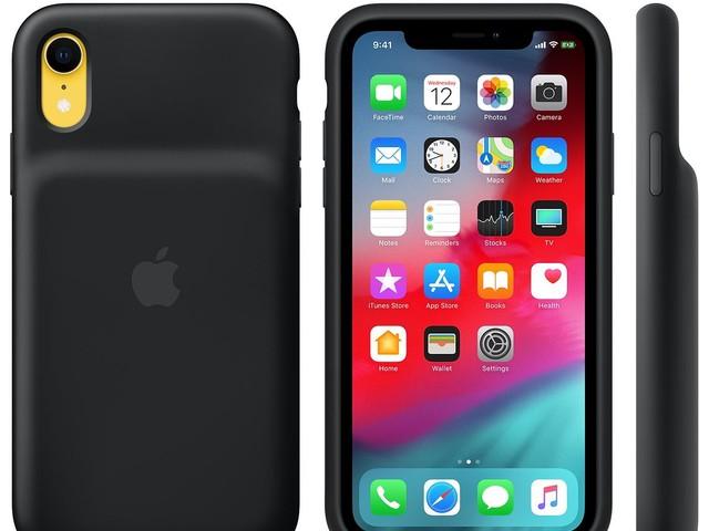 Apple sort ses coques «smart battery» Qi pour iPhone XS, XS Max et XR