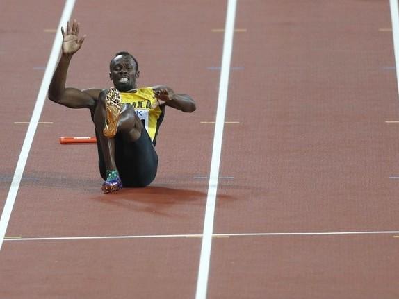 Bolt termine sa carrière sur un claquage
