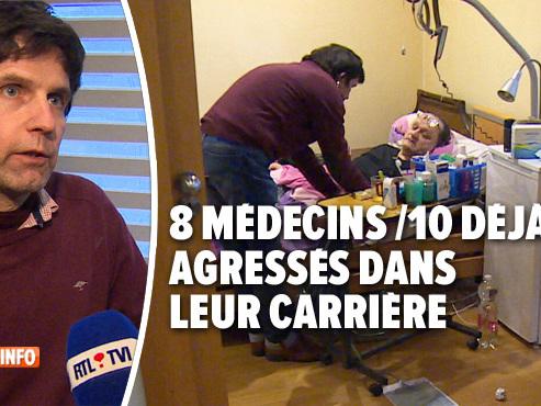 """Philippe, médecin généraliste, a déjà été agressé plusieurs fois: """"Ma femme a la peur au ventre"""""""