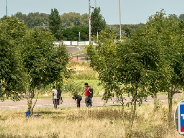 Calais: reprise des rixes entre migrants