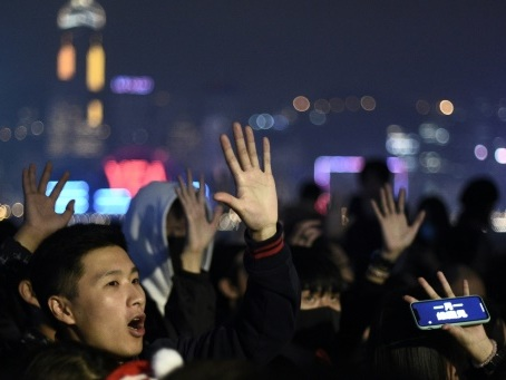 Hong Kong se prépare à une grande manifestation pour le Nouvel An