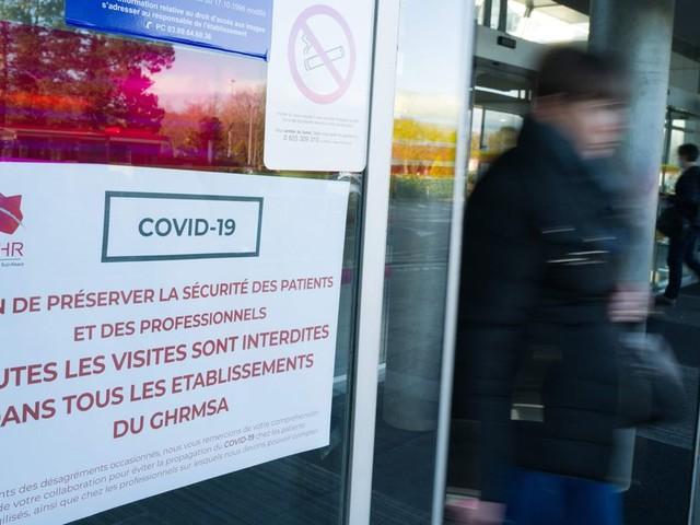 Coronavirus: l'hôpital Émile-Muller de Mulhouse face à une situation critique