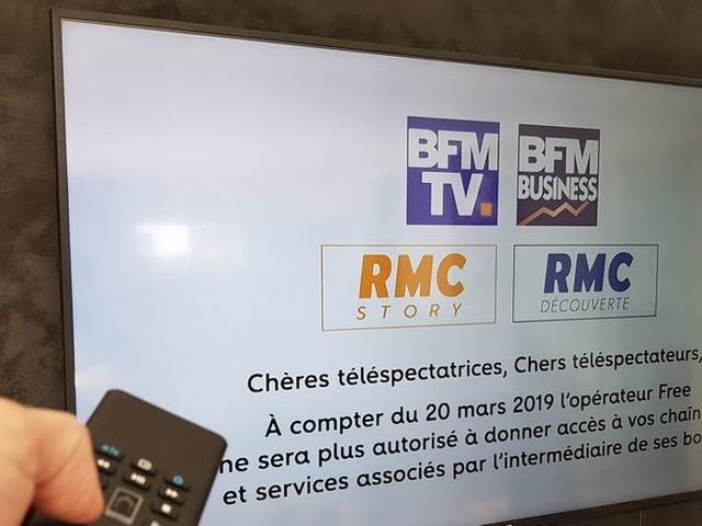 Télévision : Free s'apprête à ne plus diffuser BFMTV à partir de ce vendredi