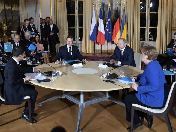 Les premiers résultats du sommet Normandie à Paris rendus publics
