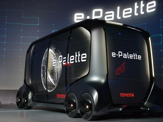 Toyota e-Palette, le véhicule autonome modulable