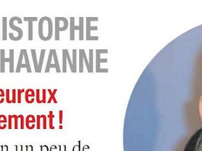 Christophe Dechavanne, en couple avec Elena Foïs, un heureux événement