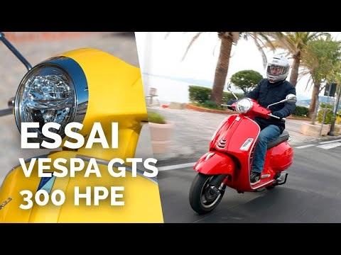 Essai Vespa GTS 300 HPE