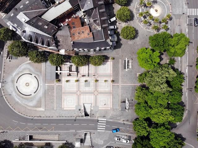 VIDEO. Les spectaculaires images de Tarbes confinée, vue du ciel, filmée avec un drone
