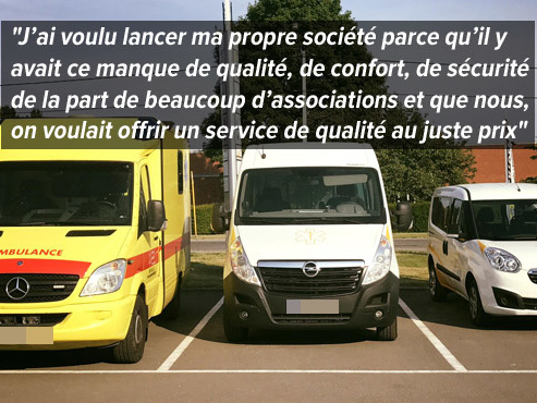 Les transporteurs bénévoles lui font de l'ombre: Michael, un jeune patron d'une société d'ambulances en colère
