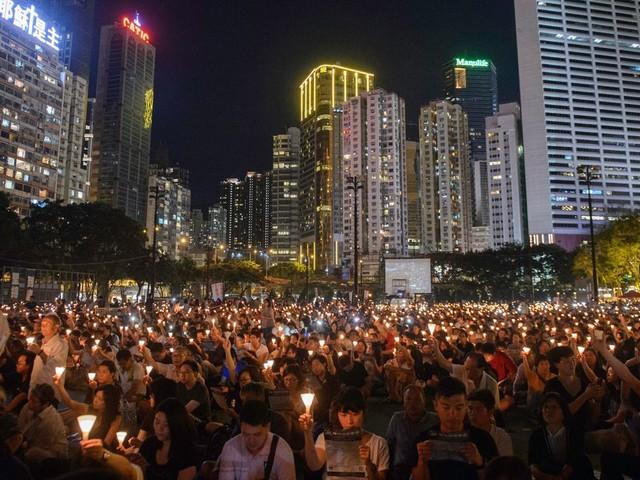La veillée de Tiananmen interdite à Hong Kong, une première en 30 ans