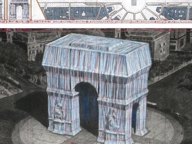 Christo mort, l'empaquetage de l'Arc de Triomphe reste programmé pour l'automne 2021