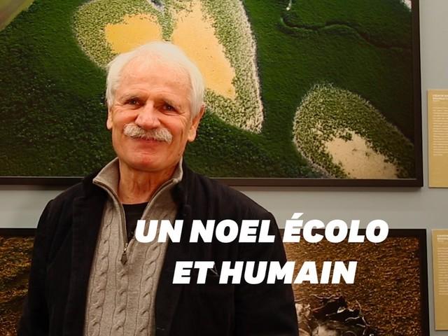Pour Noël, Yann Arthus-Bertrand recommande des cadeaux écologiques et humanistes