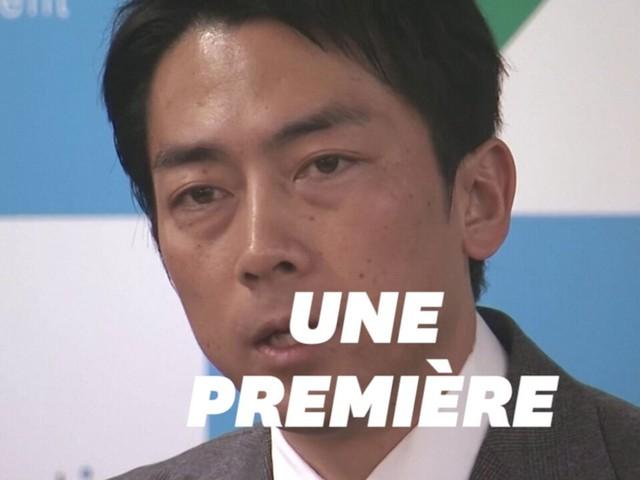 Shinjiro Koizumi est le premier ministre japonais à prendre un congé paternité