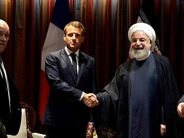 A l'ONU, Macron bute sur la question iranienne
